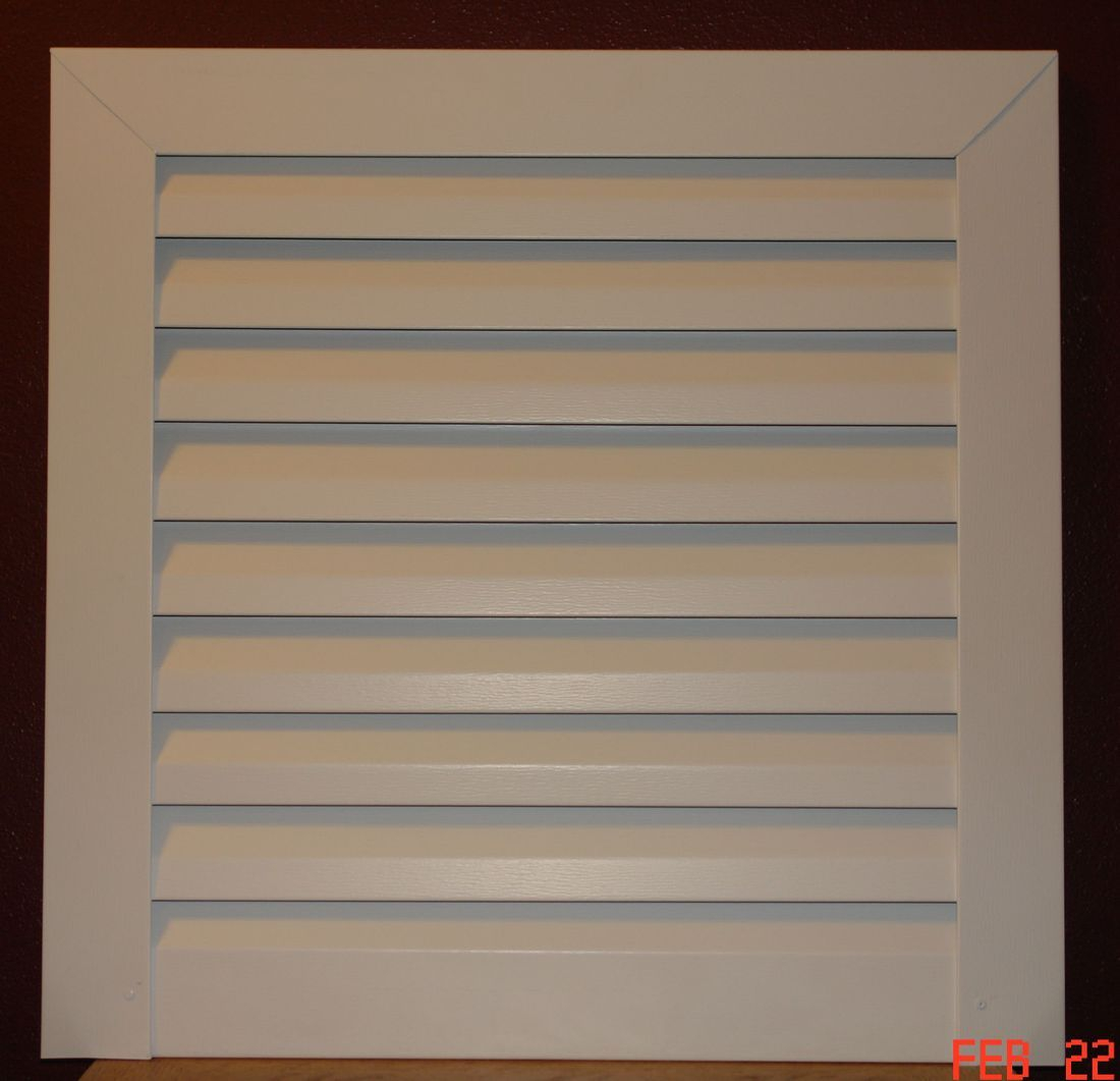 Square Aluminum gable vent