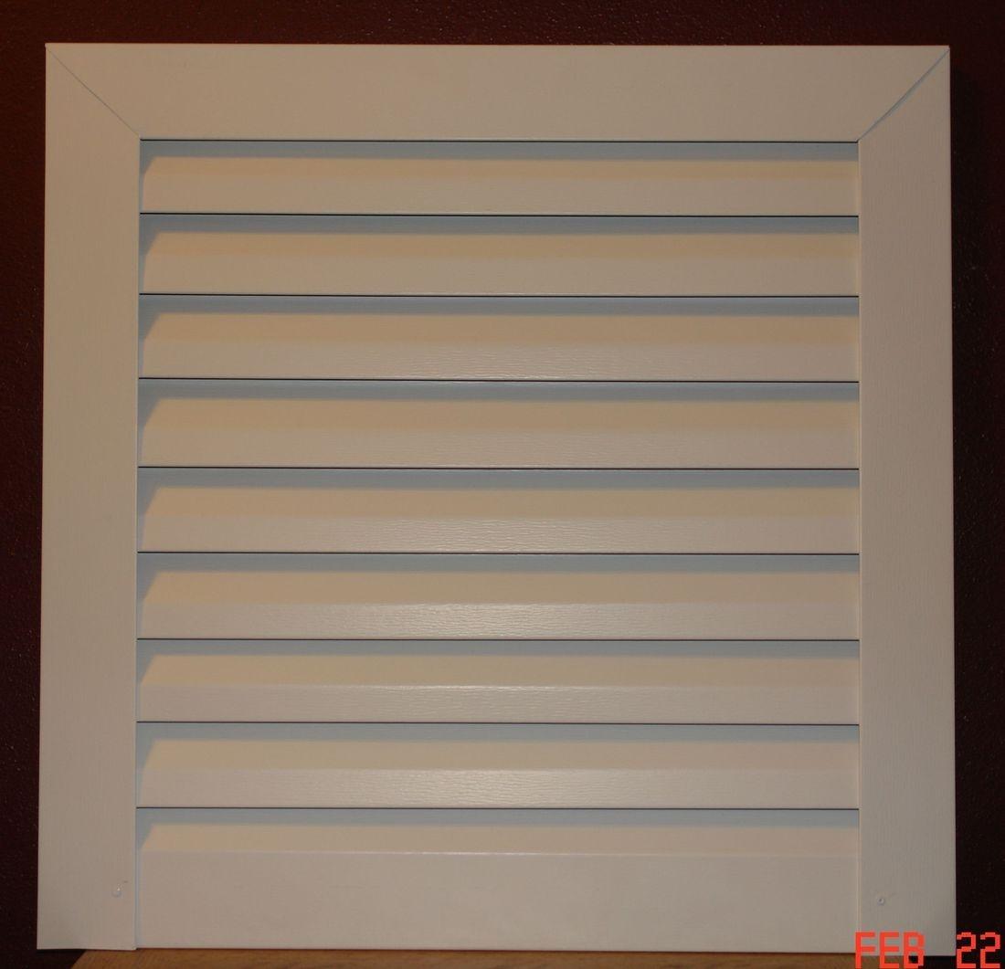 Square Aluminum gable vent