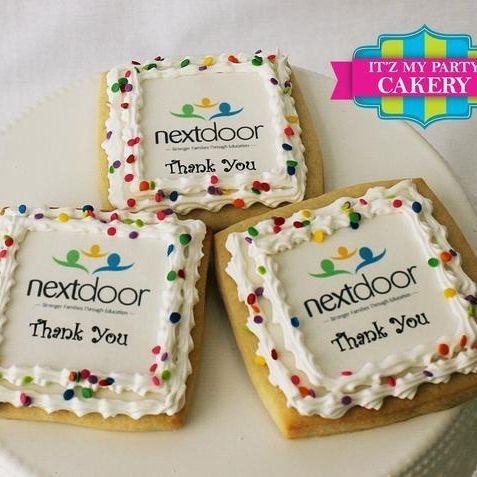 Photo Corporate Logo Cookies Milwaukee