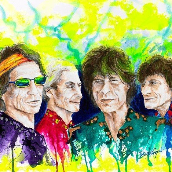 DCooper - The Rolling Stones - Giclee - 32x24 - $249