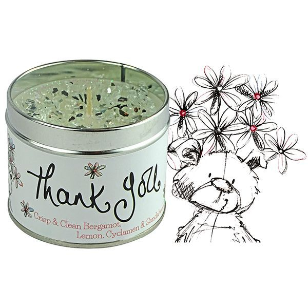 Tracey Russell Occasion Candle - Thank You