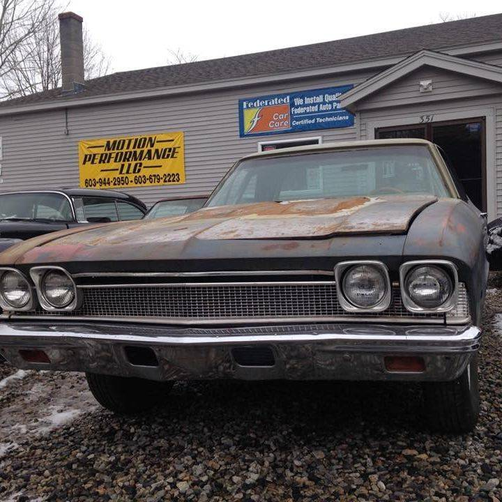 1968 Chevrolet El Camino, camaro, corvette, old corvette, car show, longhorn, 55 chevy,  performance dodge, harley parts, cheap cars, suv, used cars near me, mechanic near me,  oil change near me, auto repair near me,  car inspection near me, car inspection, mechanics, mechanics near me,  inspection sticker, NH sticker, NH inspection sticker, New hampshire inspection sticker, vehicle inspection near me, auto inspection,  bmw, honda motorcycles, cycle trader, yamaha motorcycles, mustang, ford mustang, bmw motorcycles, motorcycle sticker, indian motorcycles, roadside assistance, towing near me, tow truck near me, tow company near me, tow company, towing service, towig service near me, engine repair, transmission, transmission repair, radiator repair, air conditioner repair, exhaust repair, a/c repair, front end repair, exhaust repair near me, radiator repair near me, ac repair, car ac,  buy tires, tire repair, tire repair near me, tires and wheels, wheels and tires for sale, jeep, jeeps for sale, jeeps for sale near me, used jeeps for sale, used jeeps for sale near me, jeep repair, jeep repair near me, jeep wrangler for sale, jeep cherokee, jeep yj, jeeps yj for sale, jeep wrangler, used jeep wrangler for sale, lifted jeep, lifted jeeps, lifted jeeps fpr sale, jeep cj, jeep tj, ford for sale, chevy for sale, dodge for sale, chevelle for sale, chevelle, masters delux, masters deluxe, bel air, covertable for sale, impala for sale, ford galaxy 500, ford galaxy,  ford galaxie, ford galaxie 500, 1955 chevy, burnout, burnouts, burn out, 1972 vette 454, 454, chevy big block, big block chevys, chevy big blocks, camaro rs-ss, camaro rsss, drag cars, dragcar, drag car, classic car show, jump start, locked out,  Sales and service shop Brentwood NH, Sales and service shop, sales and service, car trouble, repair shop, automotive, car sales, trucks for sale, truck sales, cars for sale, motorcycle repair, motorcycle sales, motorcycles for sale, 4x4 for sale, plows for sale, campers for sale,  Brentwood NH, New Hampshire, cars dealerships Brentwood NH, car dealership Brentwood NH, cars Brentwood New Hampshire, trucks Brentwood NH, Antique cars New Hampshire, classic cars New Hampshire, dealerships near me, used car lot, used car lots, used car dealers, used car dealer, used cars near me,  Cars NH, oil change, 03833, used car, used cars, car, cars, sale, auto, autos, vehicle, dealer, classic cars NH, antiques NH, Inspection station NH, Inspection Brentwood NH, automotive shop Brentwood NH,  autos for sale NH, oil change NH, car tune up NH, family owned dealership, family owned car lot, family owned service shop, service shop, shop, state inspection, NH state inspection, Inspection station, state inspection NH, motion performance, motion performance NH, motion performance LLC,  mechanic, brakes, mechanics, transmissions, auto shop Brentwood, auto shop, transmission problem, brake repair, vehicle, auto, used car, preowned, pre owned, preowned car, used plow, used truck, used motorcycle, old cars, old trucks, automobile, dealer, dealer ship, Motion LLC, Motion, Performance, MP LLC, motionperformance, motionperformancellc, should I buy a used car?, buy a used car, buy a used motorcycle? Exeter used cars, Brentwood used cars, NH used cars, NH dealers, NH, affordable car, buy here pay here, payment on car, chevy car, chevy truck, Harley Davidson, Ford, Buick, Chrysler, used chevy, used 4x4, cheap car, cheap truck, cheap motorcycle, tow, tow truck, towing, 24 hour towing, car inspection, where car I get my car inspected?, where can I get my truck inspected?, where can I my motorcycle inspected?, where can I get my motorcycle inspected, where can I get my car inspected, NH inspections, commercial vehicle, CDL, New car inspection, engine, rebuild, custom, car restoration, antique restoration, truck restoration,
