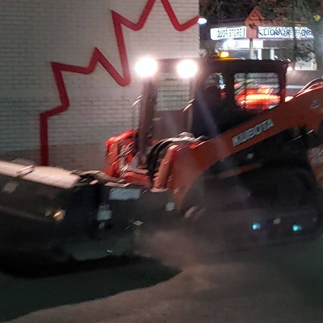 Parking Lot Sweeping Commercial Snow Removal Landscaping Edmonton St Albert Morinville