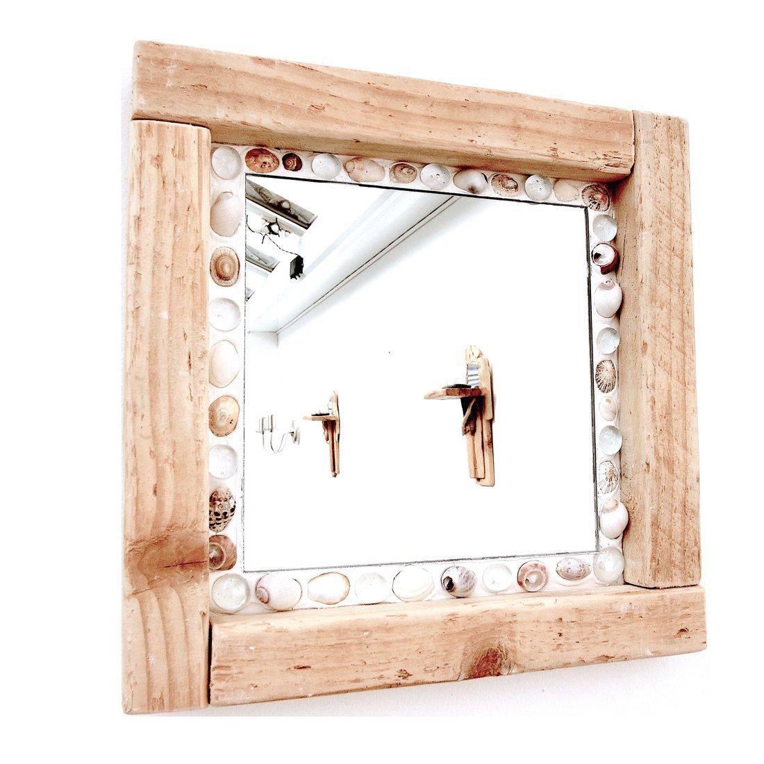 Driftwood Mirror 45