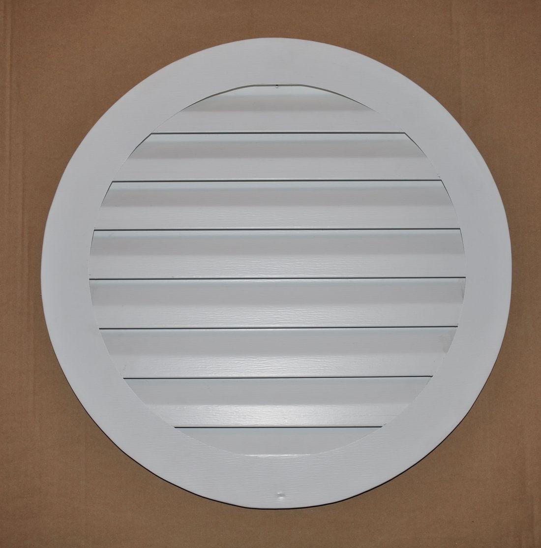 Round Aluminum gable vent