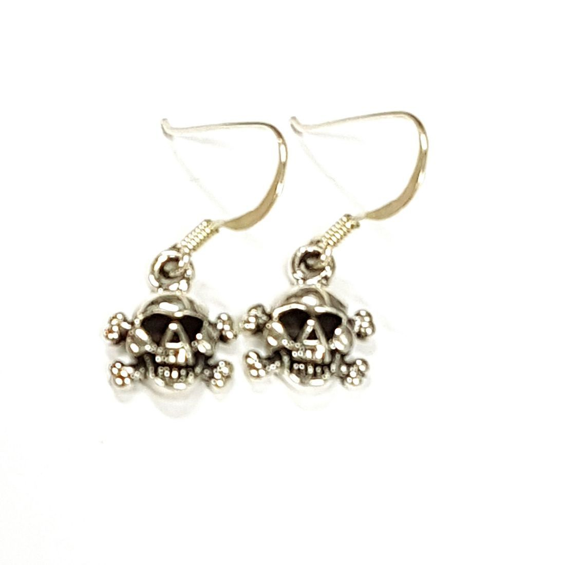Sterling Silver Skull Earrings   available at Kazbah online and our Leicester City Centre Shop