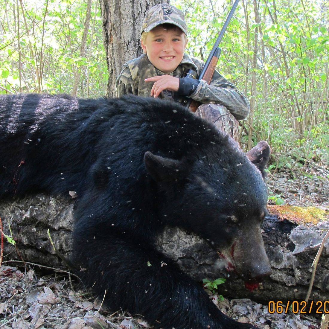 Manitoba Black bear, bear hunting, black bear, Manitoba,  fishing