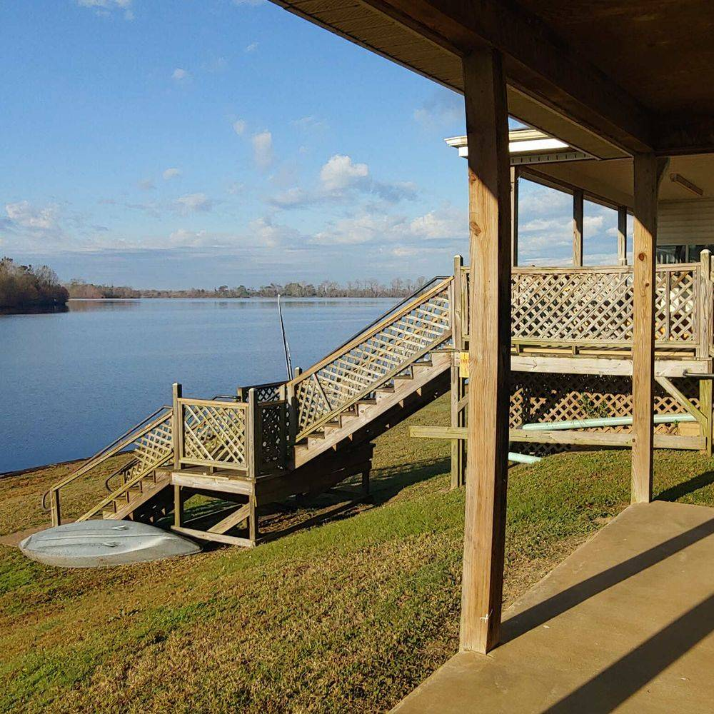 RIVER, PATIO, DECK, Natchitoches, RESTROOMS, FISHING, RIVER BANK