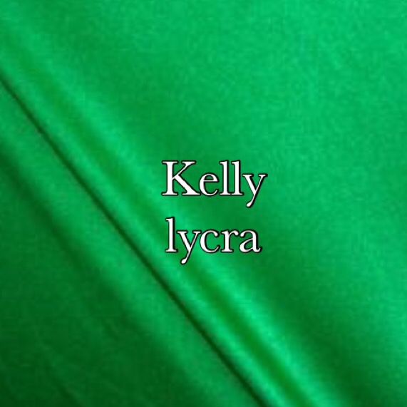 kelly green lycra