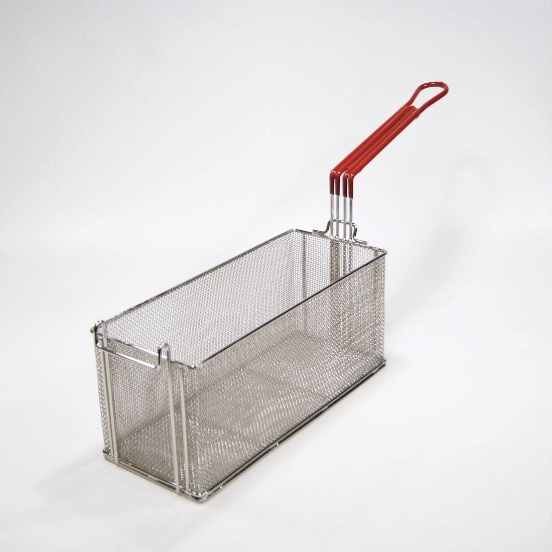 fine mesh fry basket