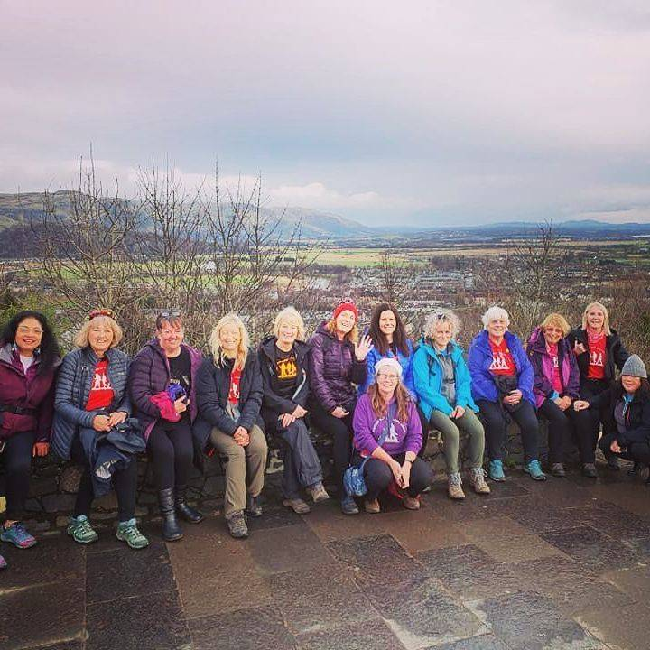 Walking group in stirling