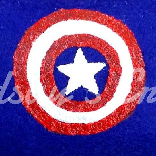 Captain America, bullseye, Avengers, America, hand painted, art, handmade, handcrafted, shop small, small business, nerd, geek, otaku, anime, comicbook, pillow