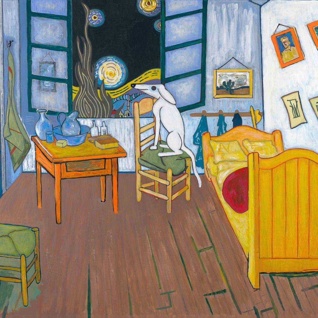 Vincent Van Gogh, Starry Night, The Bedroom, Man's Best Friend, Dogs, Artists' Dogs