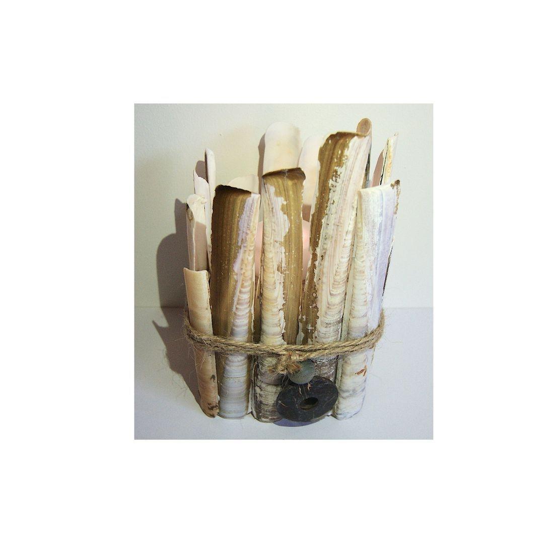 Driftwood candle tea light holder 12