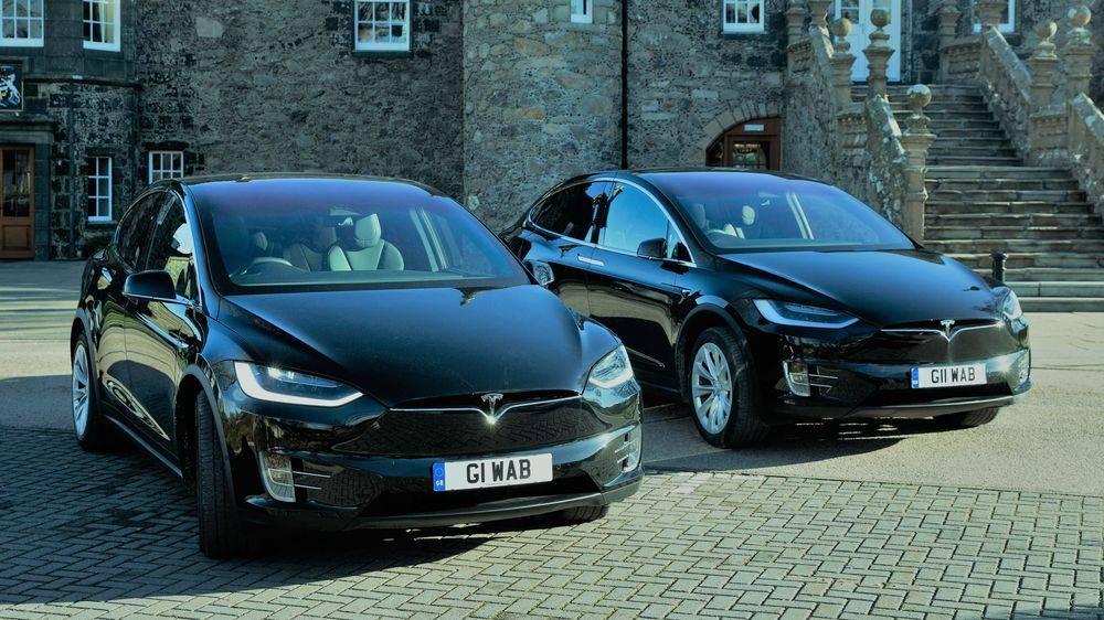 Tesla Model X Wedding Cars