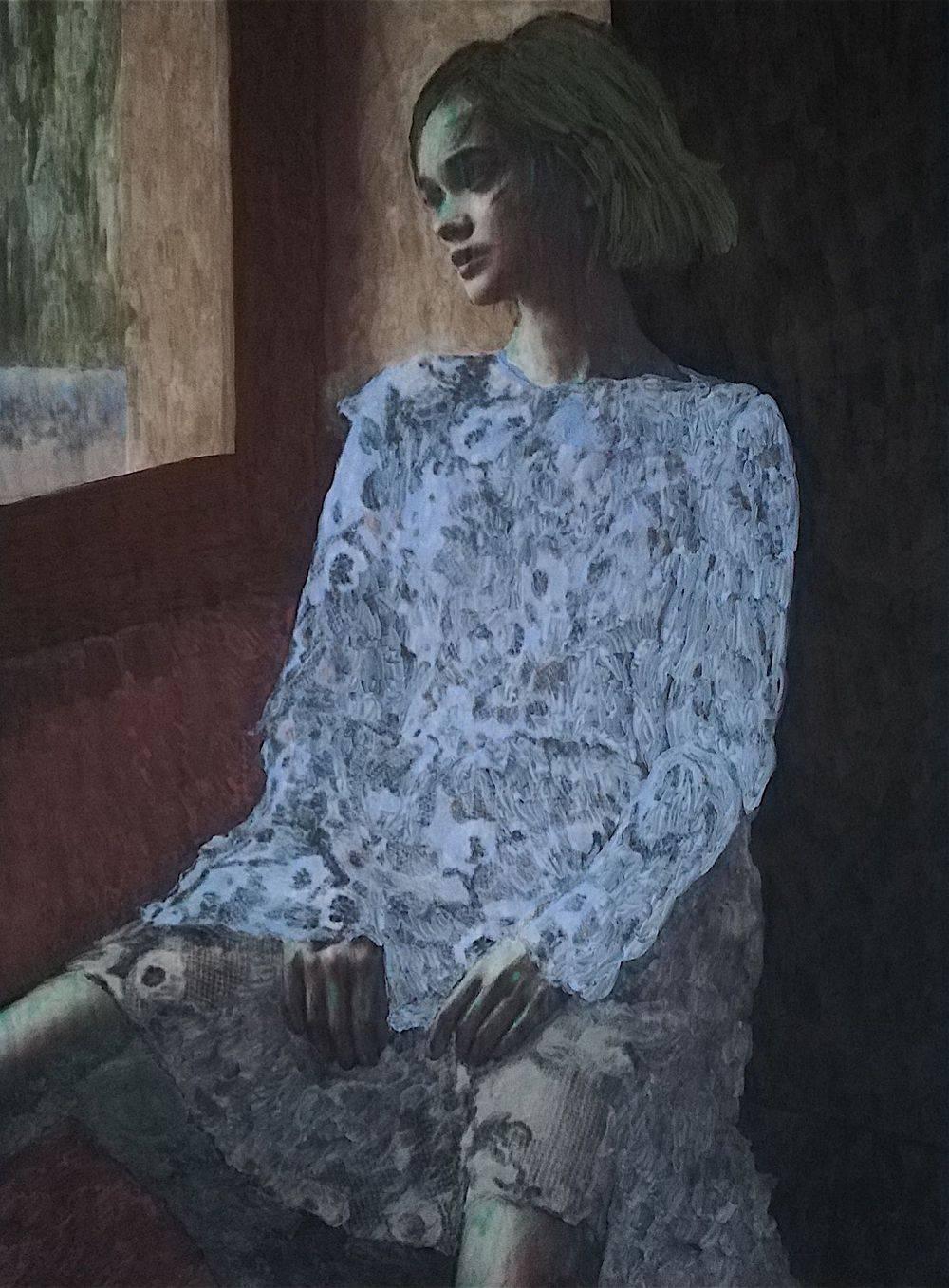 Aquarelle, Femme, Histoire de l'art, Gisants