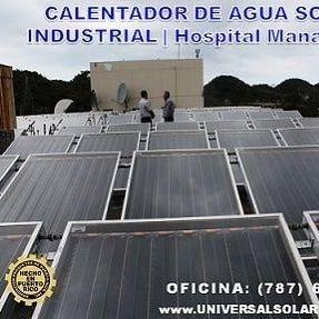 Calentador solar instalado Puerto Rico 787-635-5575