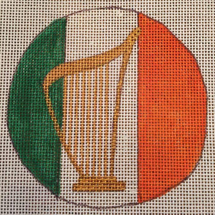 harp, irish, ornament, StPatrick's
