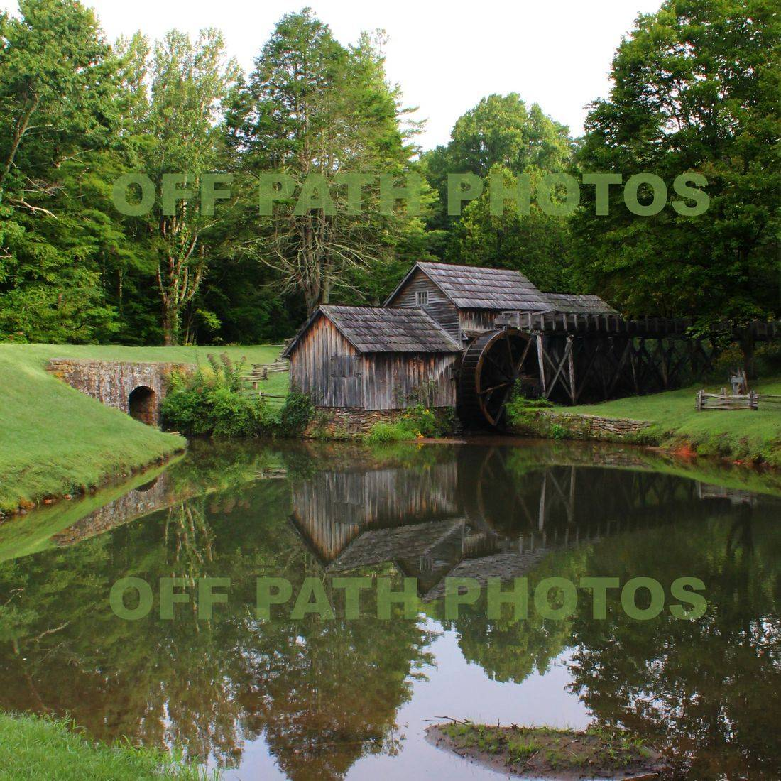 photography, Mabry Mills, Virginia, pond, old, nature, park, summer, wooden