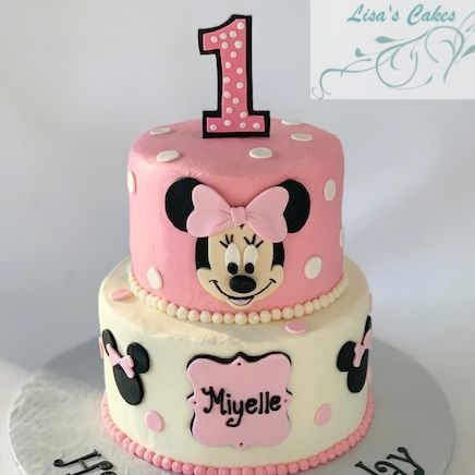 Monsters First Birthday Cake