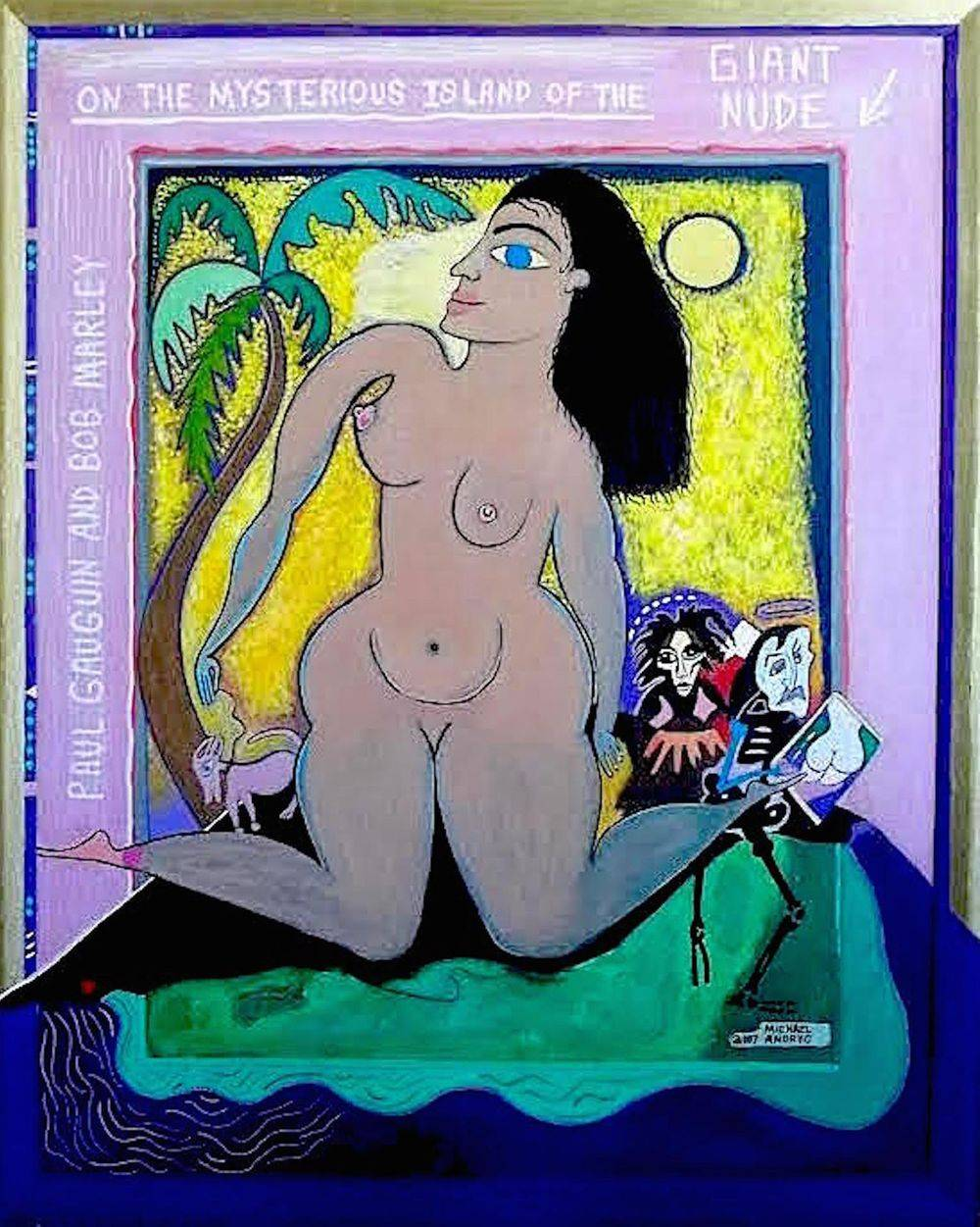 Paul Gauguin and Bob Marley on the Mysterious Island of the Giant Nude