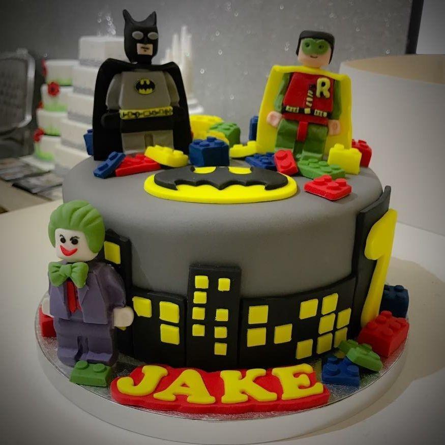 batman robin joker lego cake luton dunstable bedfordshire