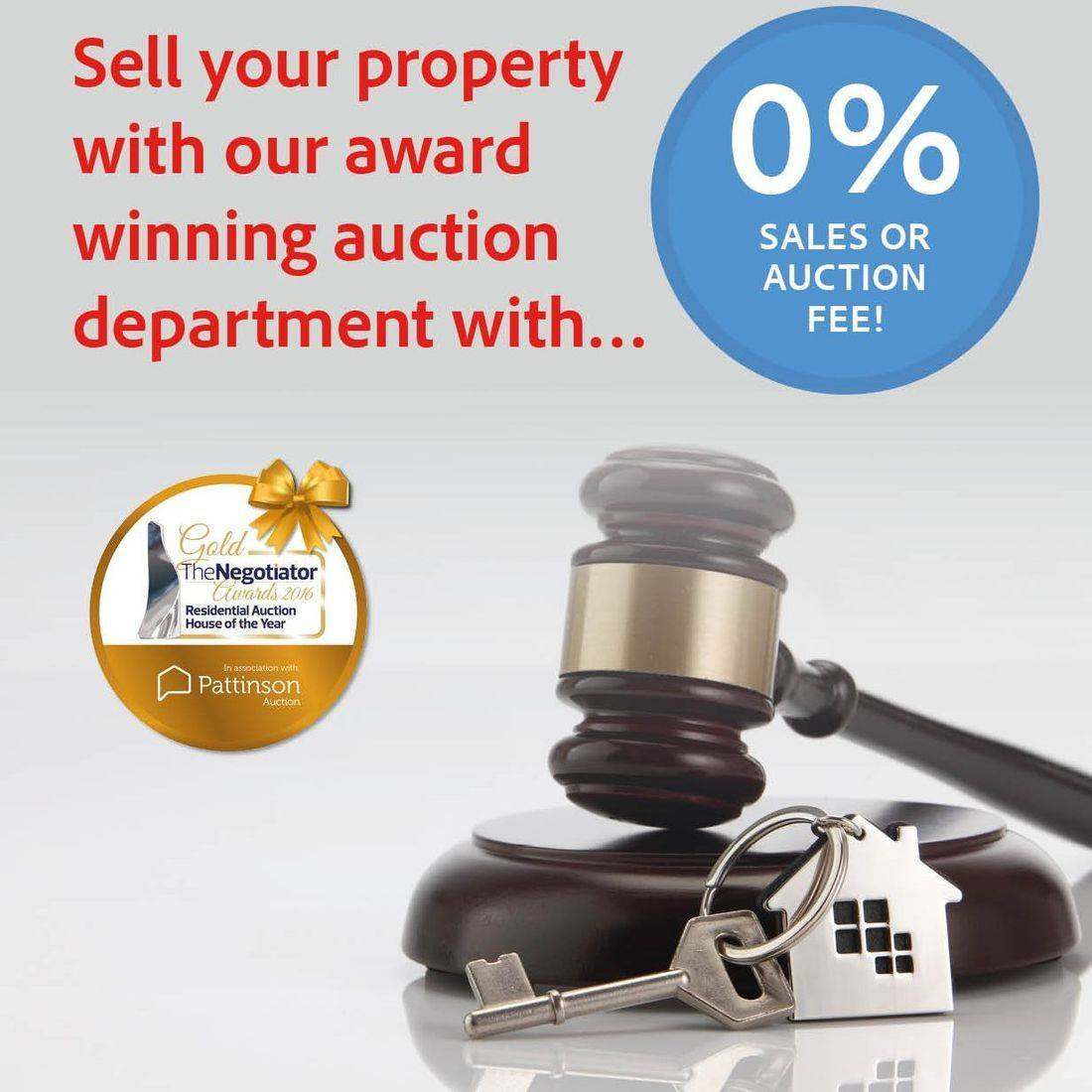 Sell through auctions, auctions, property auctions