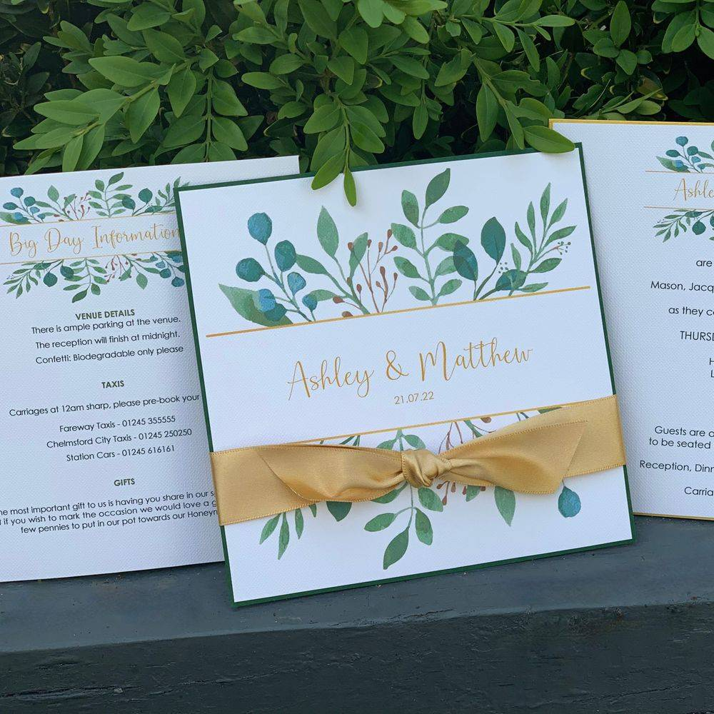 Wedding Invitation with velum wrap and wax seal, blush pink roses