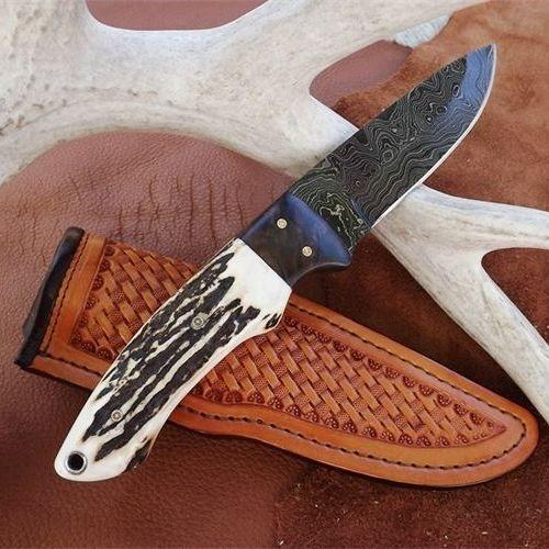 handmade knives from custom knifemaker houston texas deer skinning knife
