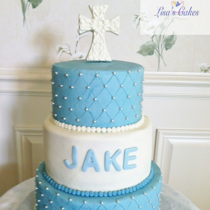 Baptismal/Communion Boy Cake