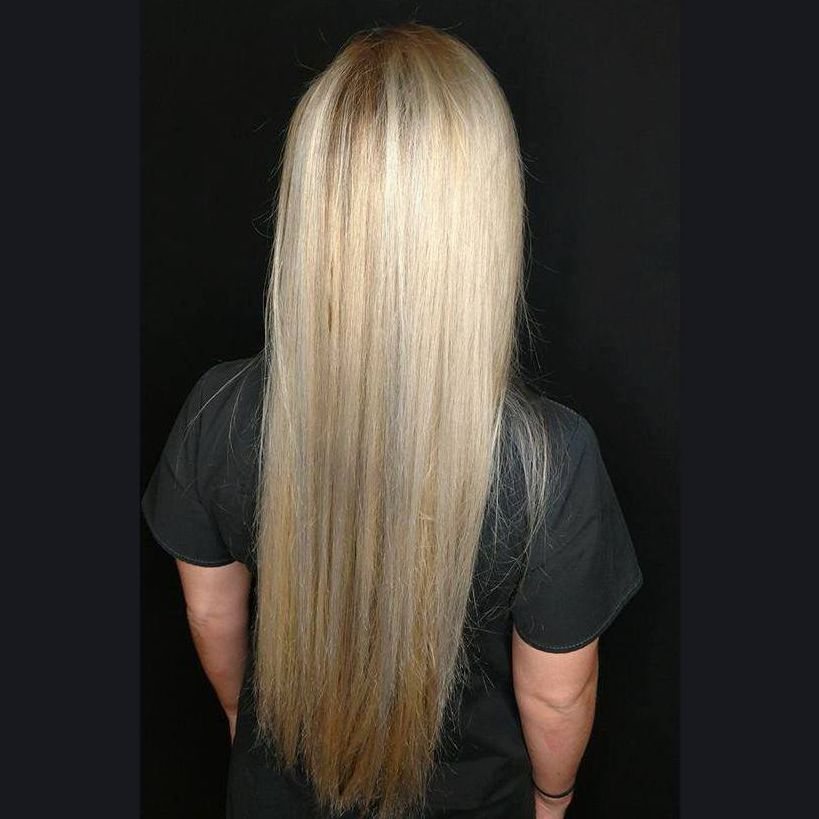Blondes long hair straight queen city hair