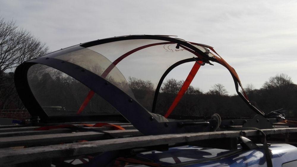 Murdy CAP-10 canopy repair.
