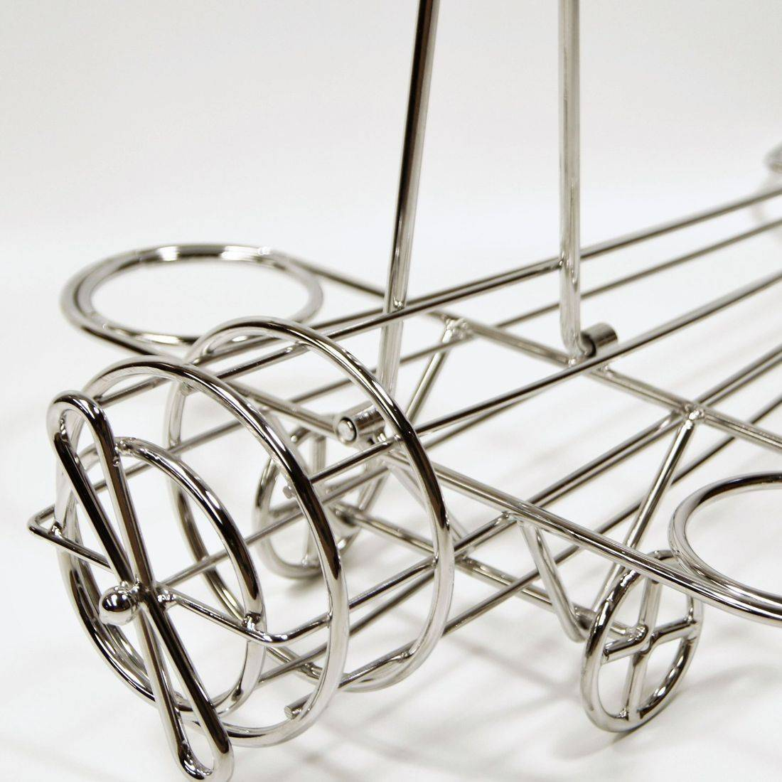 Wire Airplane Table Caddy