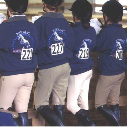 Potomac Horse Center Show Team