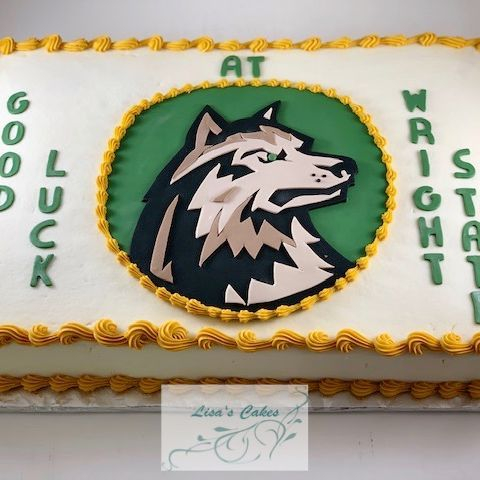 Wright State Graduation Cake