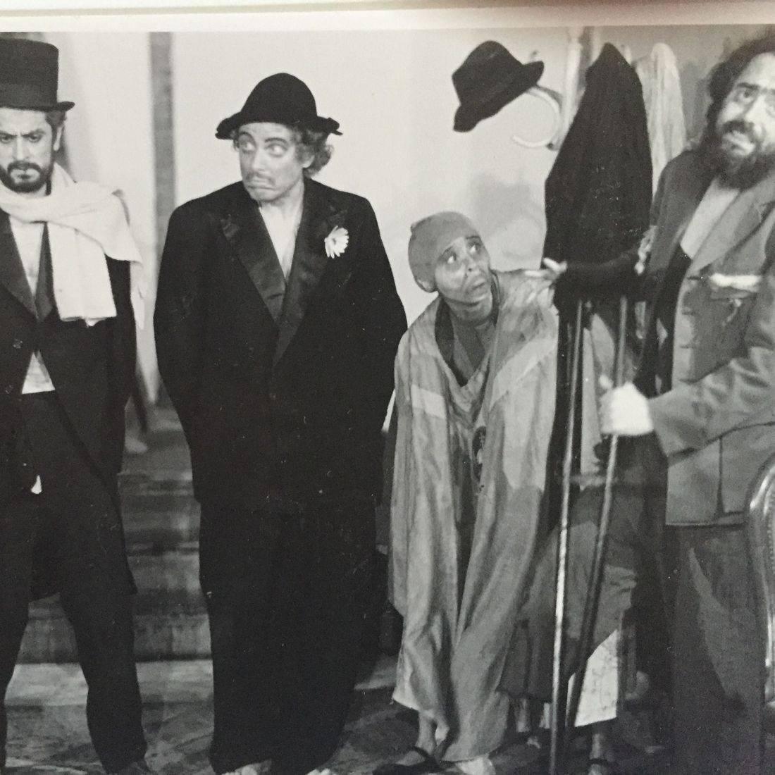 La orgía  by Enrique Buenaventura, directed by Gustavo Gac-Artigas, actors: Antonio Reynaldos, Jaap Remerswal,  Priscilla Gac-Artigas and Gustavo Gac-Artigas