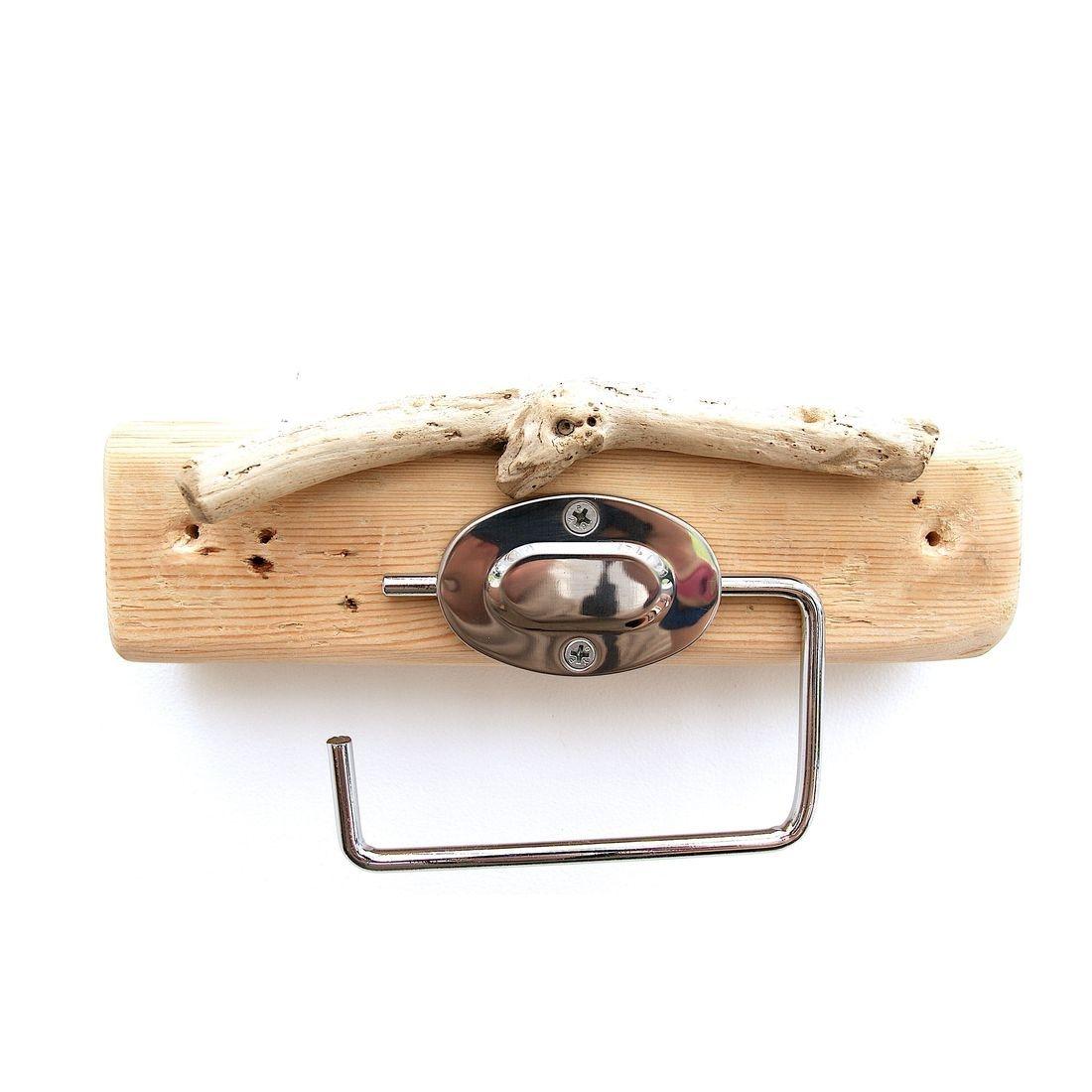 Driftwood toilet roll holder 13