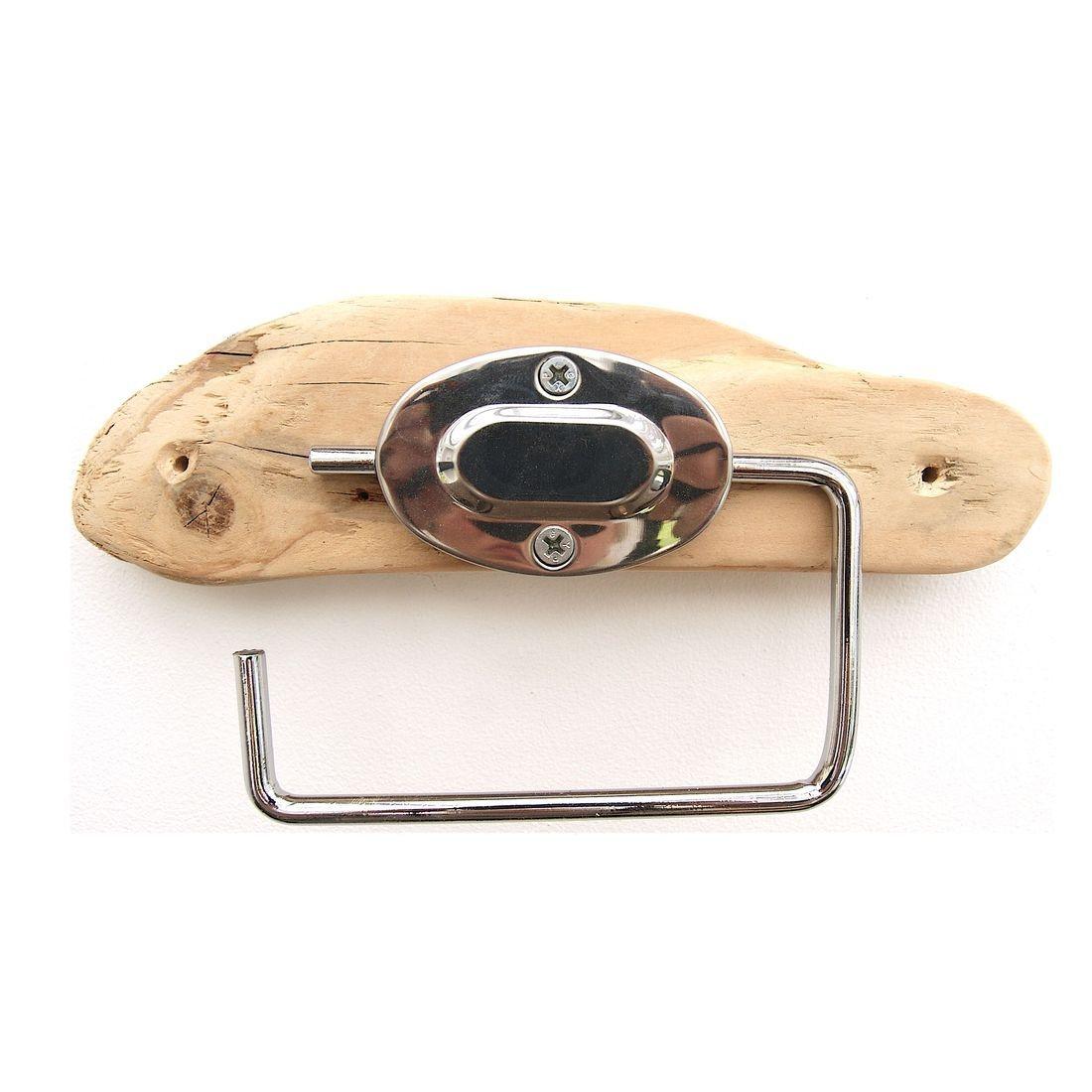 Driftwood toilet roll holder 9