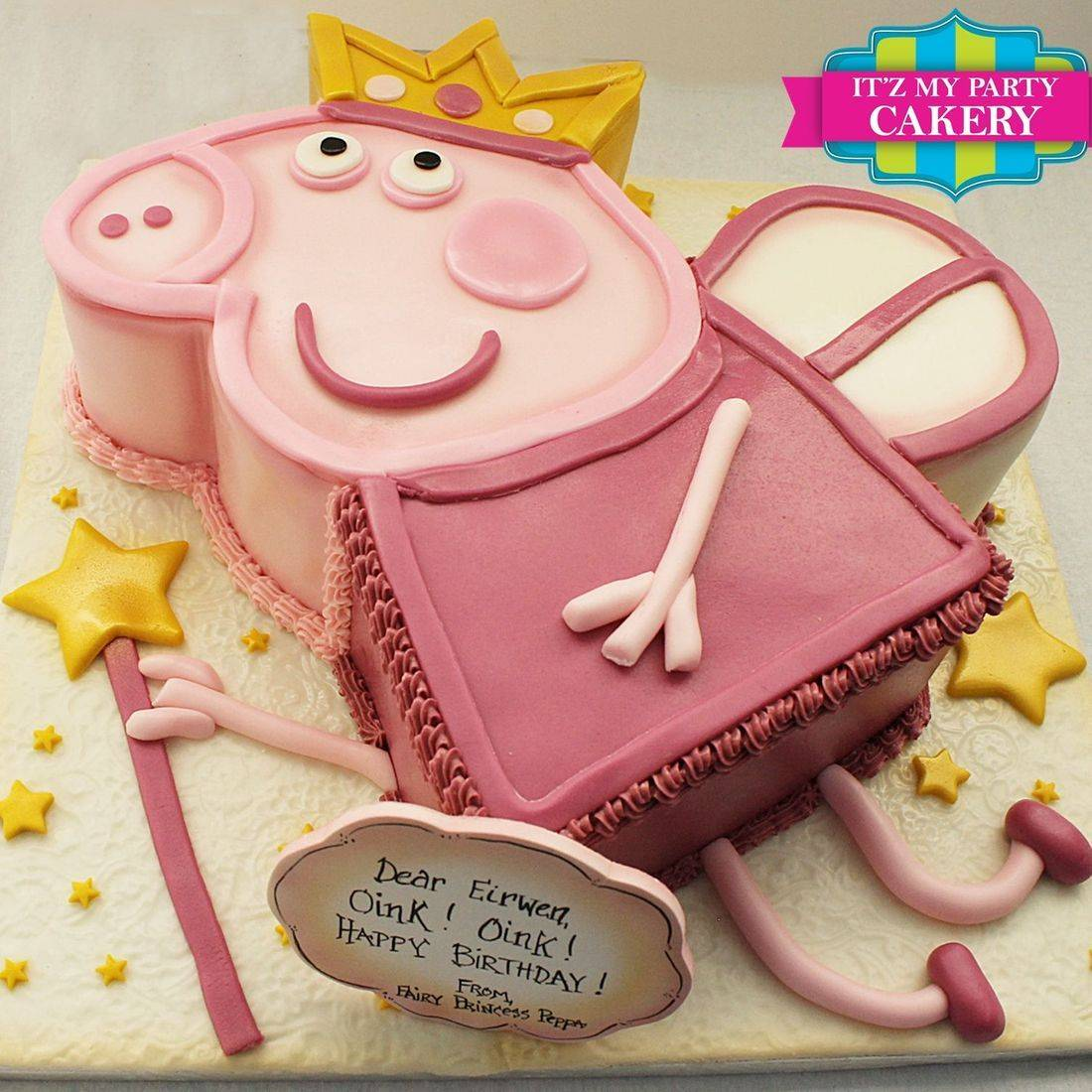 Peppa Pig Fairy Cake Dimensional Cake Milwaukee