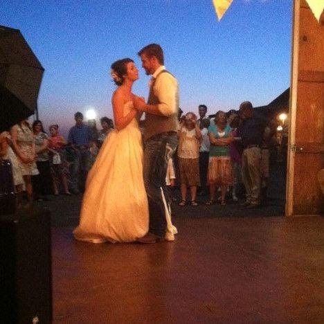 Wedding DJ in Joplin Country Wedding First Dance