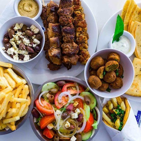 Greek Kebabs Salad Best in Freo Gyro Souvlaki
