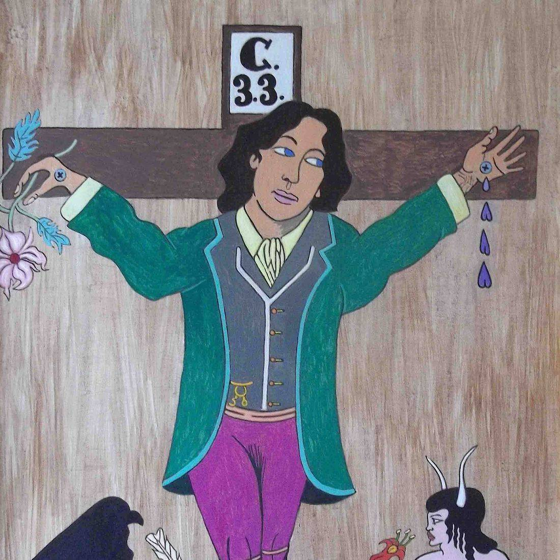 Oscar Wilde, Famous Writers, Homosexuality, Aubrey Beardsley, Prison, Dandy, Persecution, LGBT