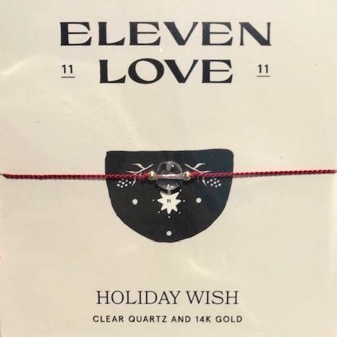 holiday wish, 11:11 wish, holiday wish bracelet, exhalo wish