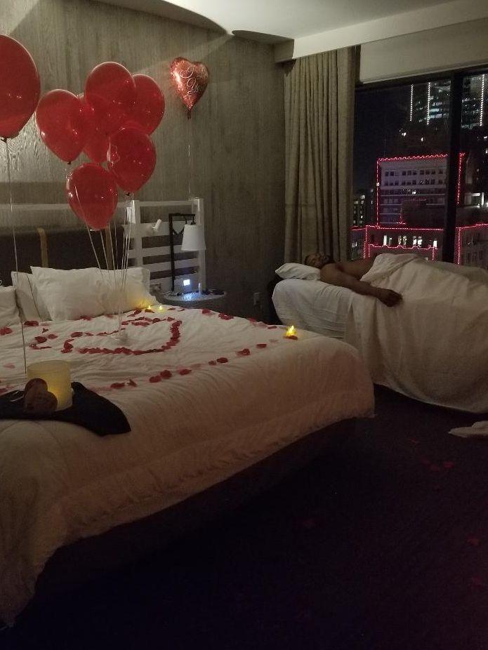 Worthington Hotel Valentine Surprise