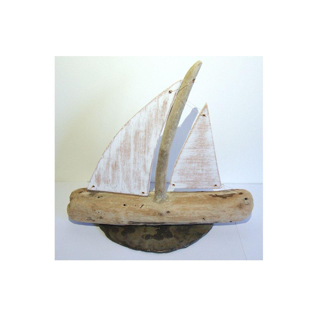 Driftwood boat 6