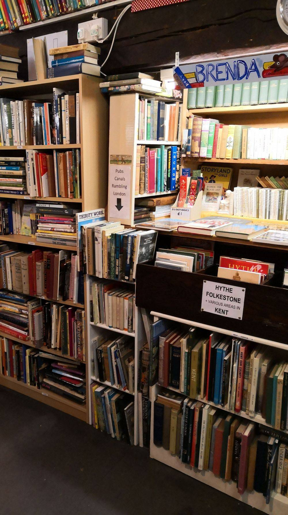 local second hand books hythe