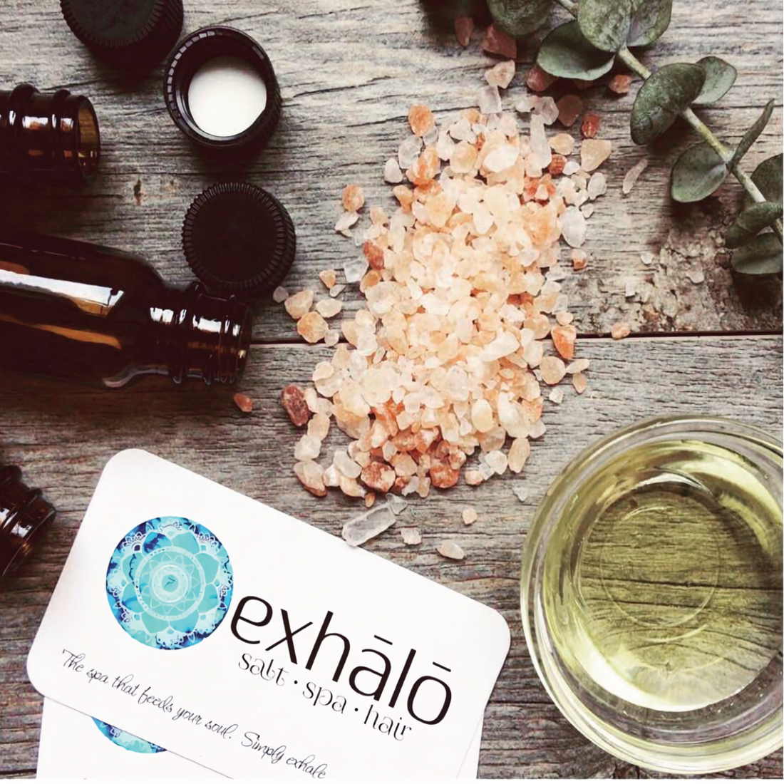 exhalo gift certificate, barrhaven spa gift