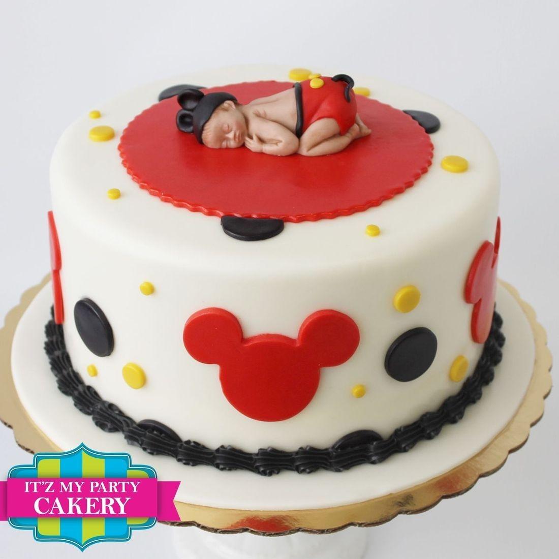 Custom  Baby Mickey Mouse Cakes  Milwaukee