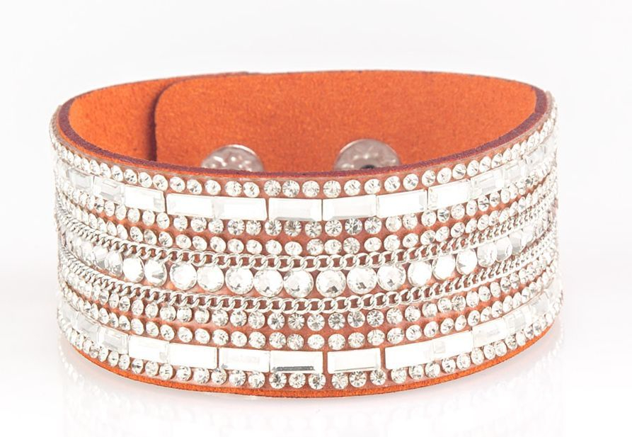 Rebel radiance orange bracelet