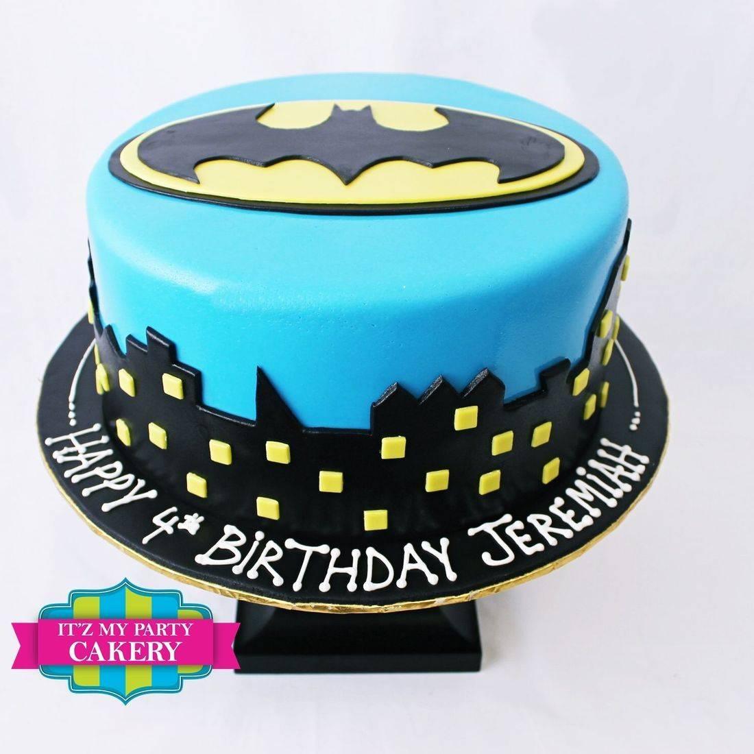 Custom  Batman Cakes Milwaukee